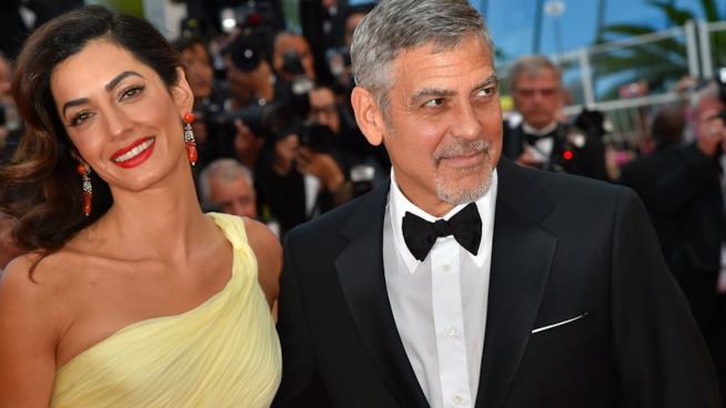George Clooney e la moglie Amal