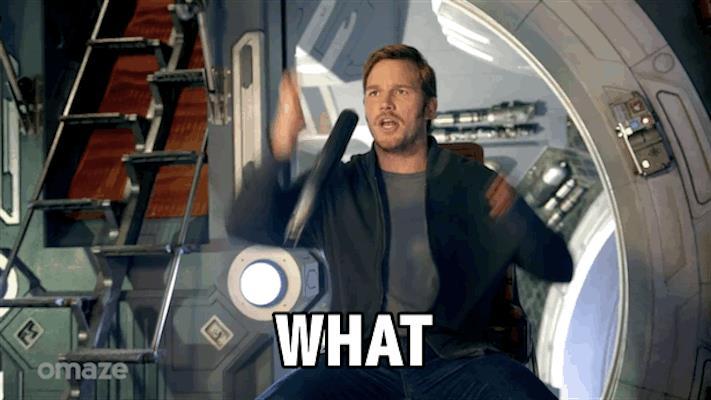 Come reagirà Chris Pratt?