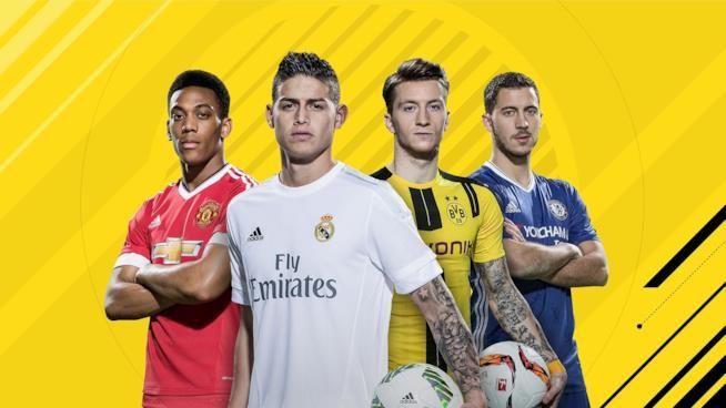 I 4 ambasciatori di FIFA 17 nella cover ufficiale del gioco