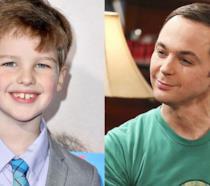 Ian Armitage e Jim Parsons alias Sheldon Cooper