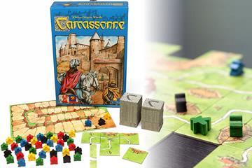Il gioco in scatole Carcassonne