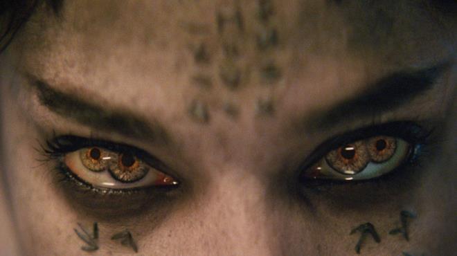 Sofia Boutella come Ahmanet in La mummia