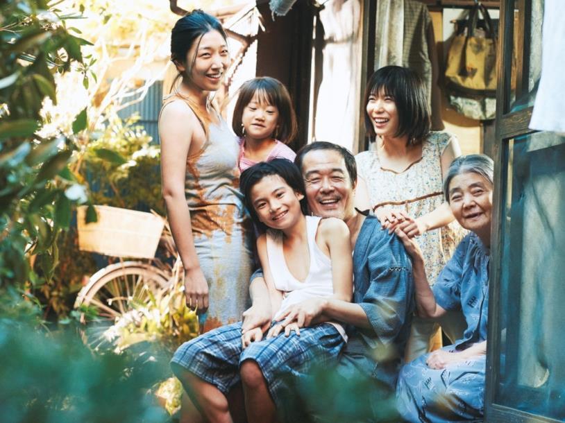 La famiglia Shibata al completo