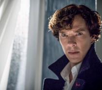 Cumberbatch nei panni di Sherlock
