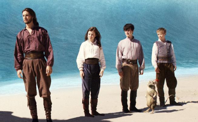 I protagonisti di Le cronache di Narnia - Il viaggio del veliero