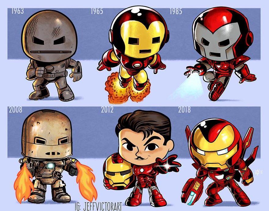 L'evoluzione delle icone della cultura pop: Iron Man