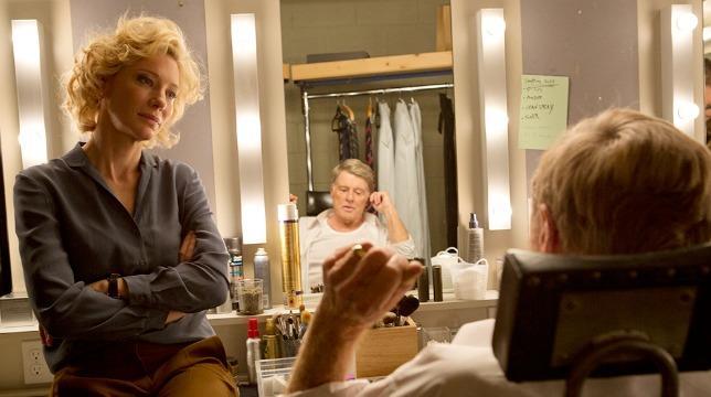 Cate Blanchett e Robert Redford in una scena del film