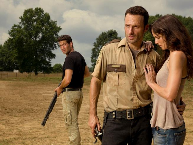 The Walking Dead: Shane, Rick e sua moglie Lori