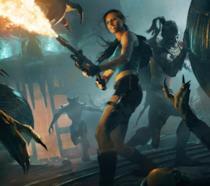 Lara Croft nello spin-off Lara Croft e il Guardiano della Luce