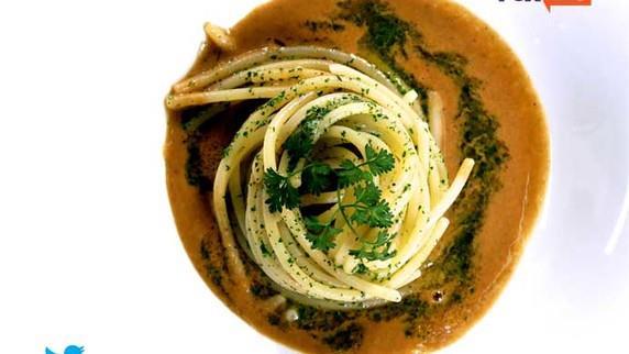 Spaghetto aglio, olio e cozze