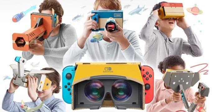 Nintendo Labo Kit VR uscirà su Switch ad aprile in due versioni