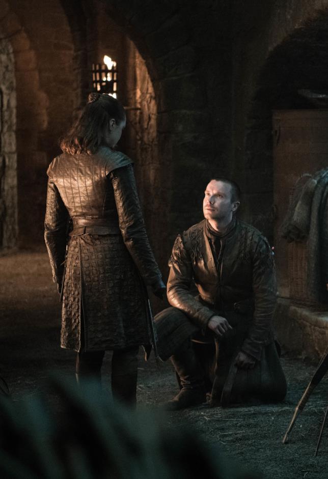 Gendry vuole che Arya diventi la sua sposa