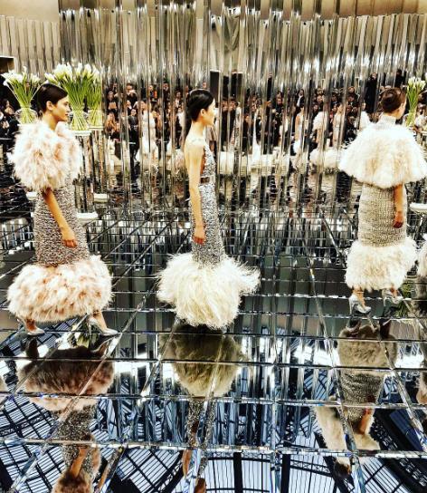 La sfilata Chanel Haute Couture