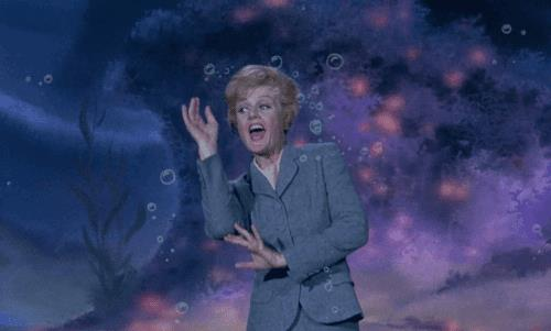 Angela Lansbury al 25mo anniversario del Classico Disney La Bella e La Bestia