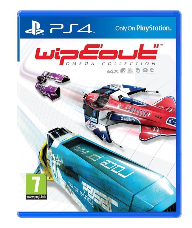 WipEout Omega Collection in uscita il 7 giugno 2017