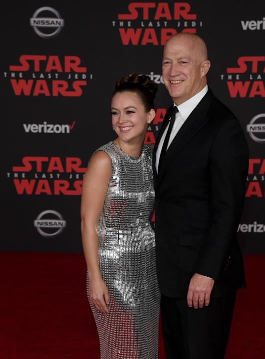 Star Wars: Gli Ultimi Jedi, Billie con il papà, Bryan Lourd