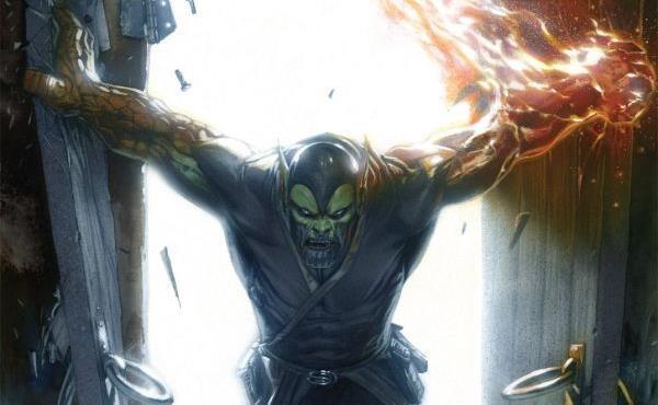 Dettaglio della cover di Annihilation: Super Skrull #2