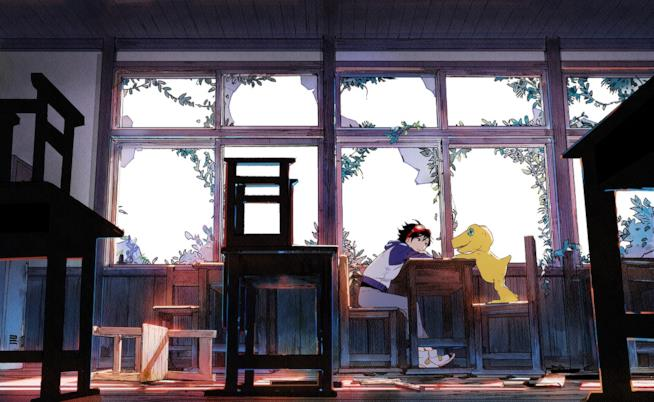 La copertina ufficiale di Digimon Survive