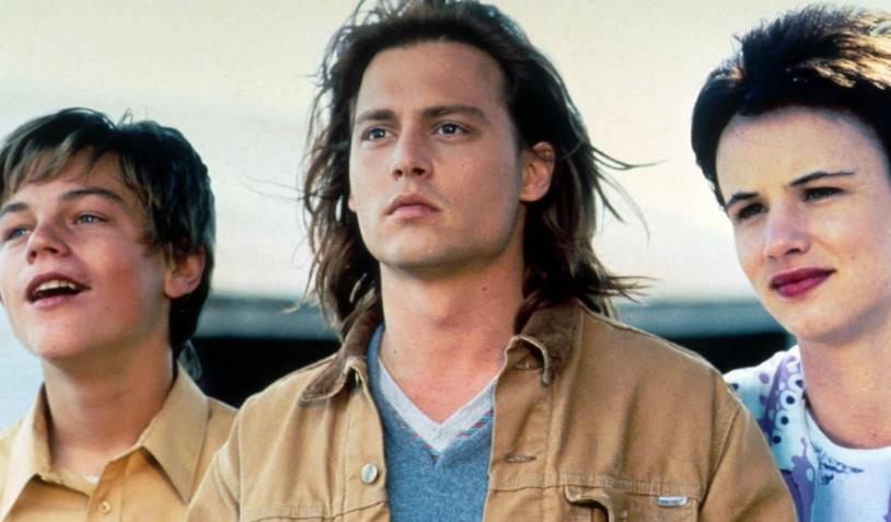 DiCaprio, Depp e la Lewis in una scena del film