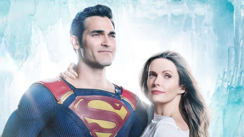 Tyler Hoechlin ed Elizabeth Tulloch nei panni di Superman e Lois Lane