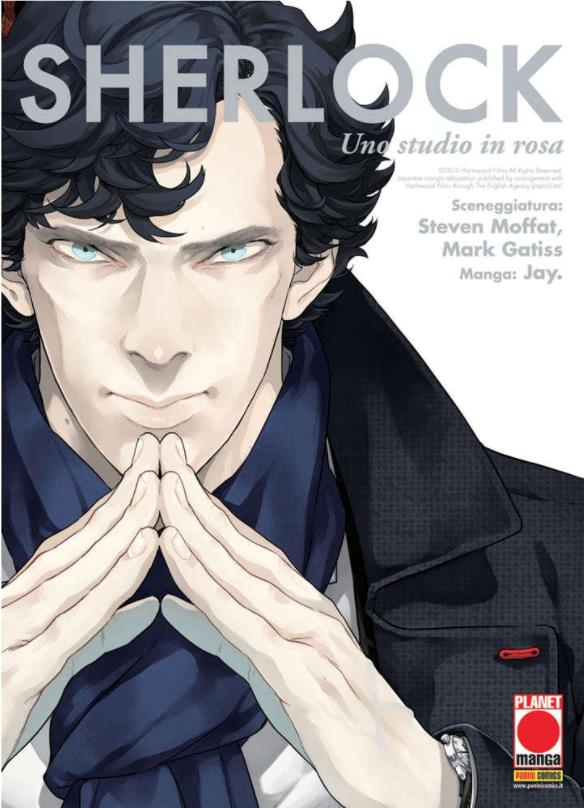Arriva anche in Italia il manga di Sherlock