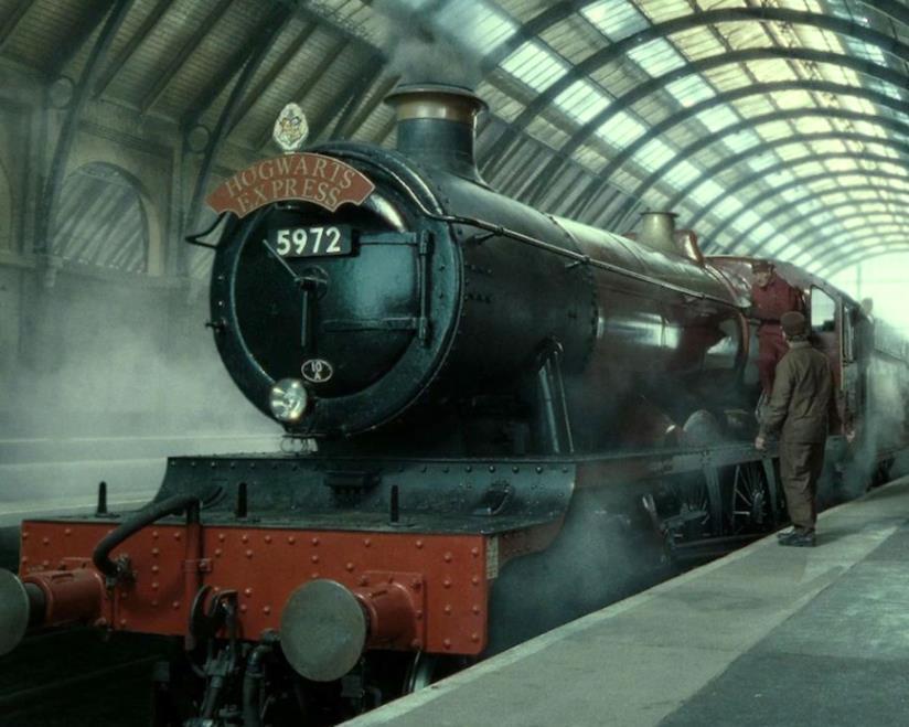 La locomotiva dell'Hogwarts Express