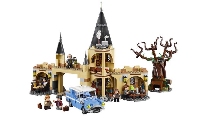 Dettagli del set Hogwarts Whomping Willow (Il platano picchiatore) di LEGO