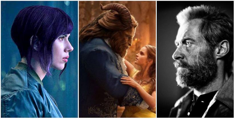 La Bella e la Bestia, Logan e Ghost in the Shell