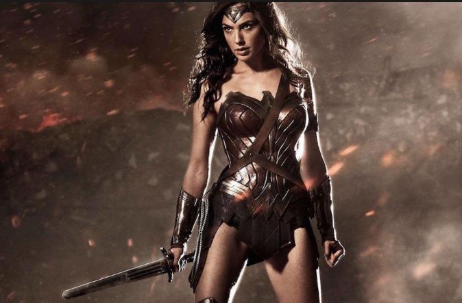 Un'immagine di Wonder Woman