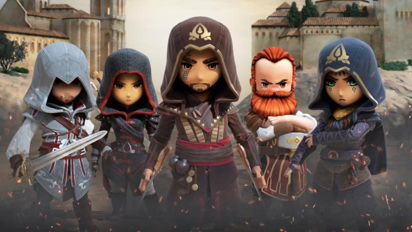 Alcuni degli Assassini selezionabili in Assassin's Creed Rebellion