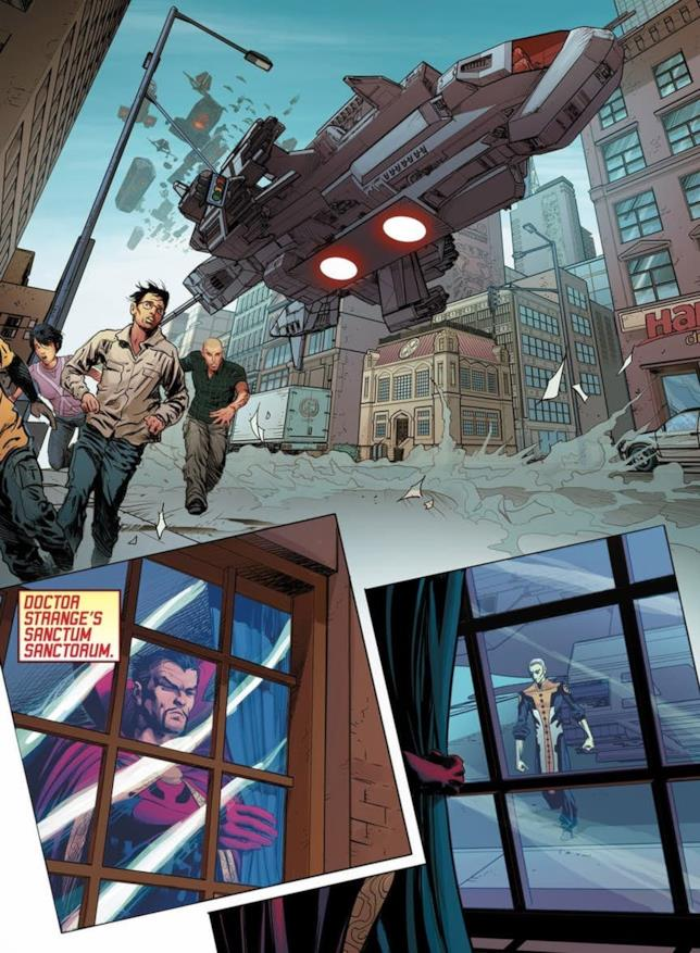 I New Avengers di Hickman