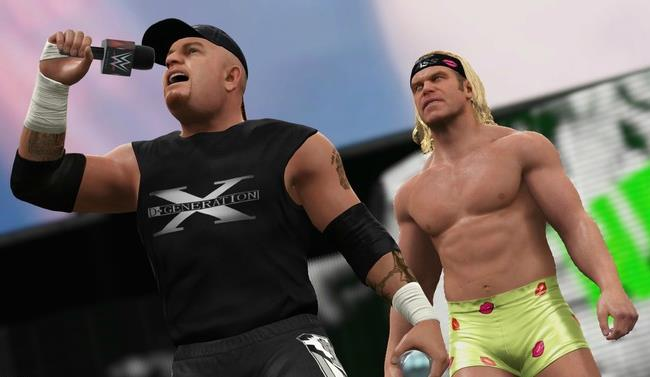 'Road Dogg' Jesse James e Billy Gunn in WWE 2K17