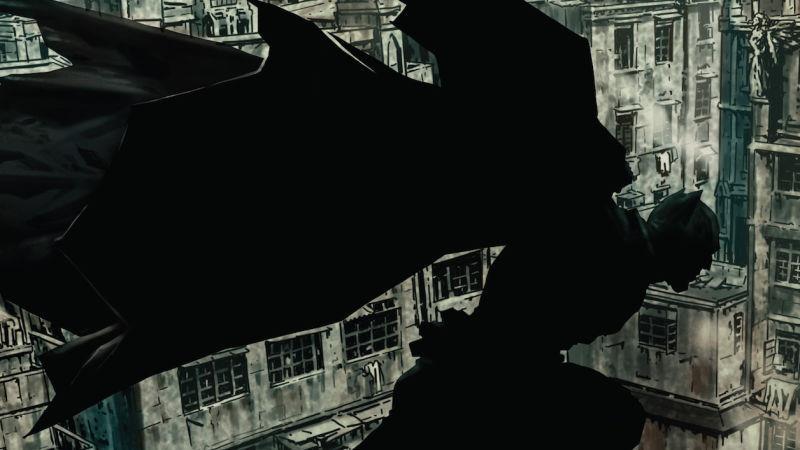 il cavaliere oscuro in Batman Damned