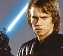 Hayden Christensen nei panni di Anakin Skywalker