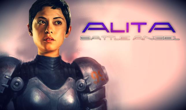 Il poster di Alita: Battle Angel
