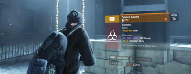 Conflict arriva in The Division