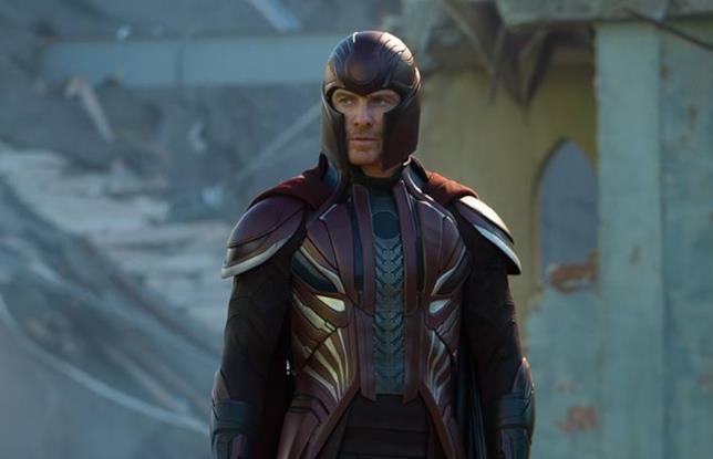 Michael Fassbender come Magneto in X-Men - Apocalisse