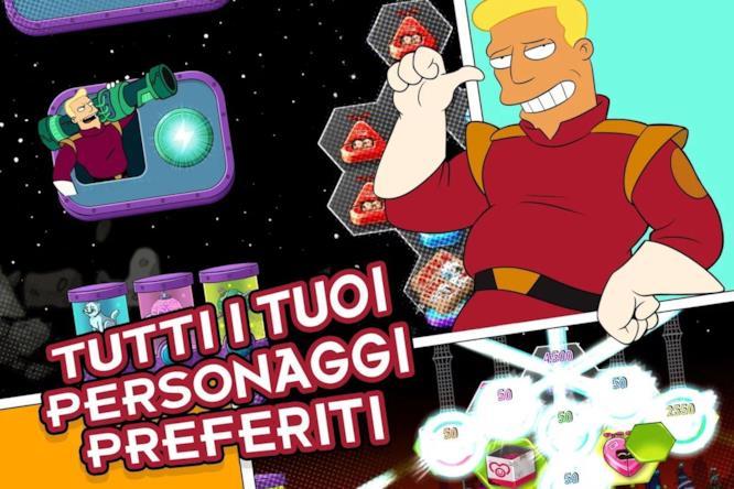 Zapp Brannigan nel gioco Futurama: Game of Drones
