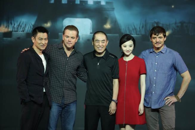 The Great Wall cast