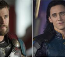 Thor e Loki in Ragnarok