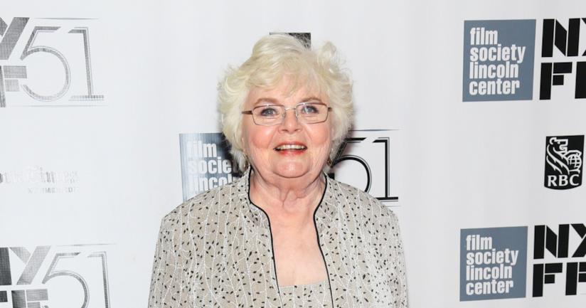 Un'immagine promozionale di June Squibb, nonna di Sheldon nella nona stagione di The Big Bang Theory