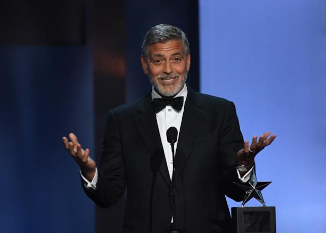 George Clooney all'AFI Tribute
