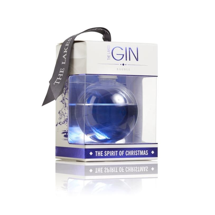 Confezione singola della pallina alcolica di The Lakes Distillery