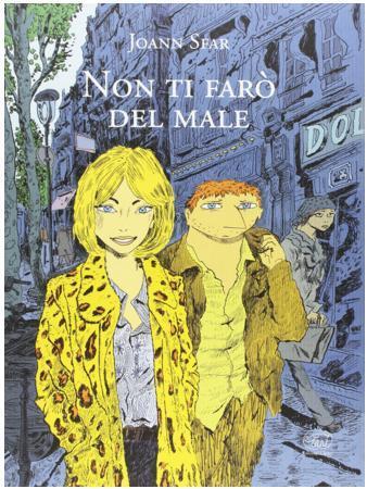 La cover del graphic novel di Sfar