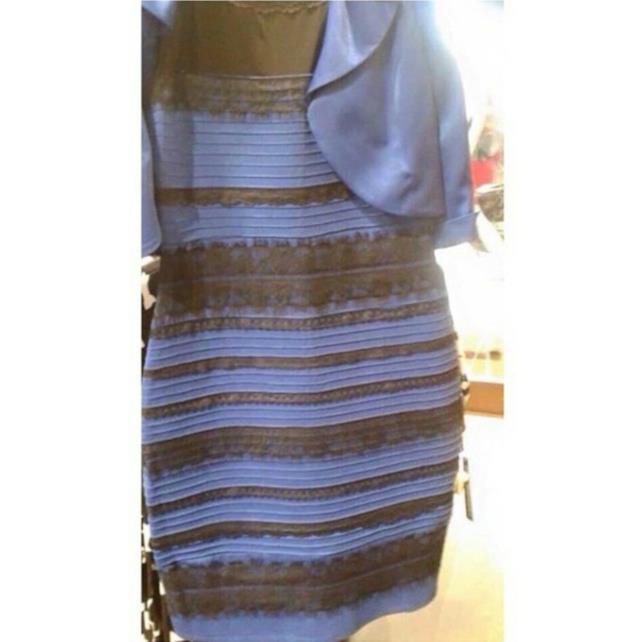 The Dress: il vestito è oro e bianco o blu e nero?