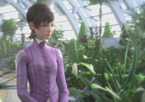 Meku, moglie di Ezra in Capitan Harlock