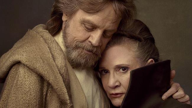 Luke e Leila in Star Wars