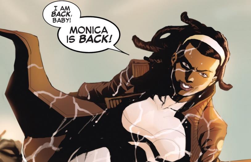 Monica Rambeau alias Spectrum nei fumetti
