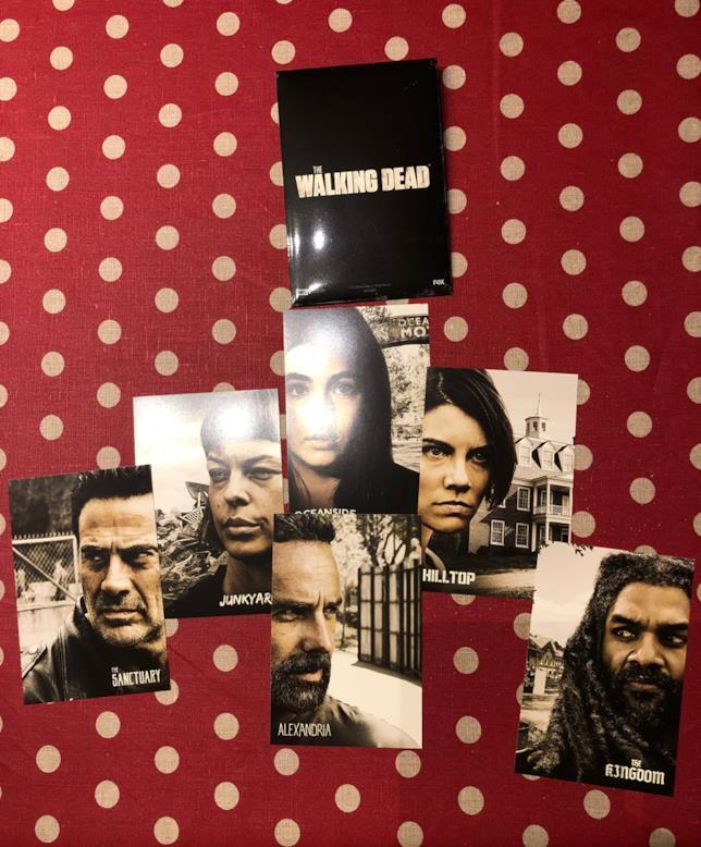 Le cartoline  di The Walking Dead