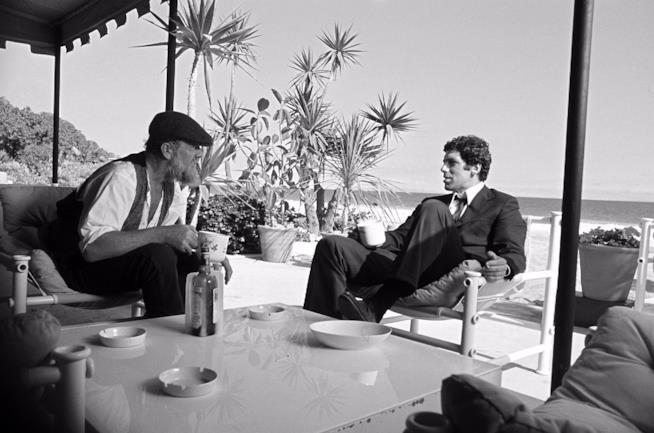 Elliott Gould in una scena de Il lungo addio